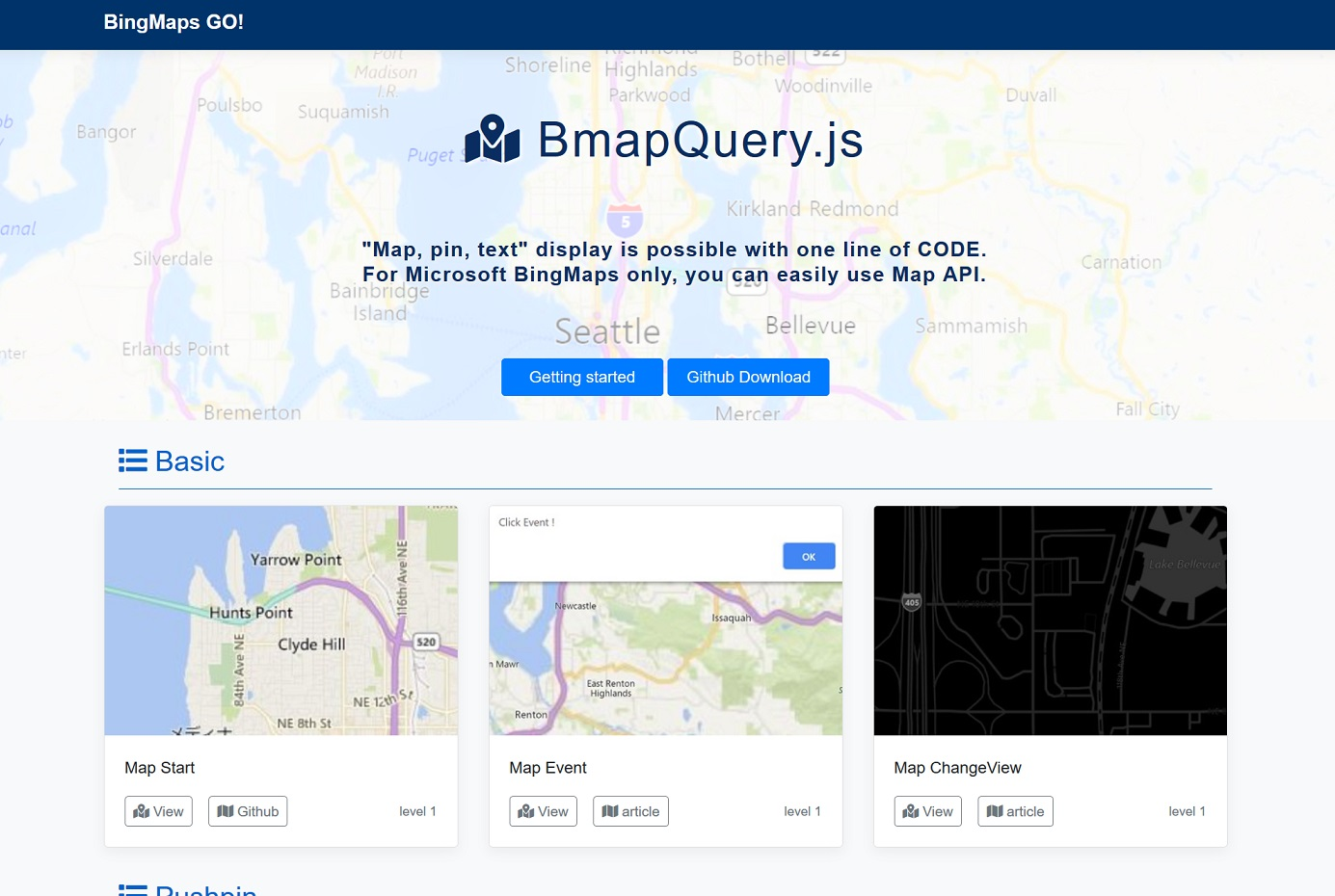 BmapQuery js